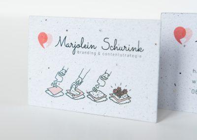Visitekaartje Marjolein Schurink